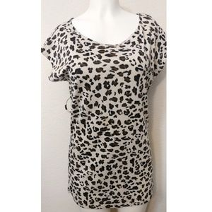 forever 21 mini cheetah dress with grow on sleeves